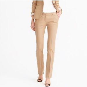 J.Crew Campbell Trousers in Bi-stretch Cotton